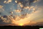 wschód słońca 3 sierpnia 2015, godz. 5:31