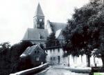 Kiedyś ul. Zakątek i kościół  pofranciszkański