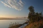 Wisła w okolicach mostu k. Kwidzyna