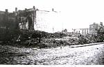 Tak wyglądał  zbombardowany Dom Towarowy  pana Jażdżewskiego  w  1945roku - spica