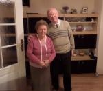 Spotkanie  p. Zacharka z nianią  po  75 latach !