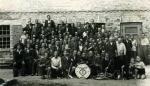 Pracownicy  PFM wraz z orkiestrą - lata 60-te  spica